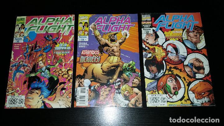 Cómics: Alpha Flight Vol. 2 completa 20 numeros - Foto 4 - 73427947
