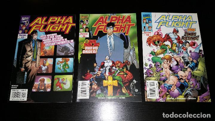 Cómics: Alpha Flight Vol. 2 completa 20 numeros - Foto 5 - 73427947