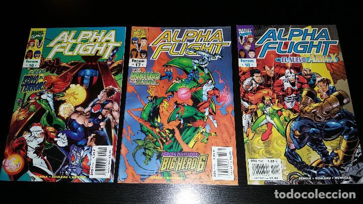 Cómics: Alpha Flight Vol. 2 completa 20 numeros - Foto 6 - 73427947