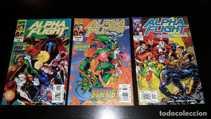 Cómics: Alpha Flight Vol. 2 completa 20 numeros - Foto 7 - 73427947