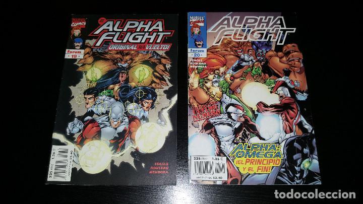 Cómics: Alpha Flight Vol. 2 completa 20 numeros - Foto 8 - 73427947