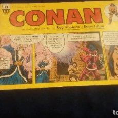 Cómics: CONAN LAS TIRAS DE PRENSA Nº3. Lote 73522615