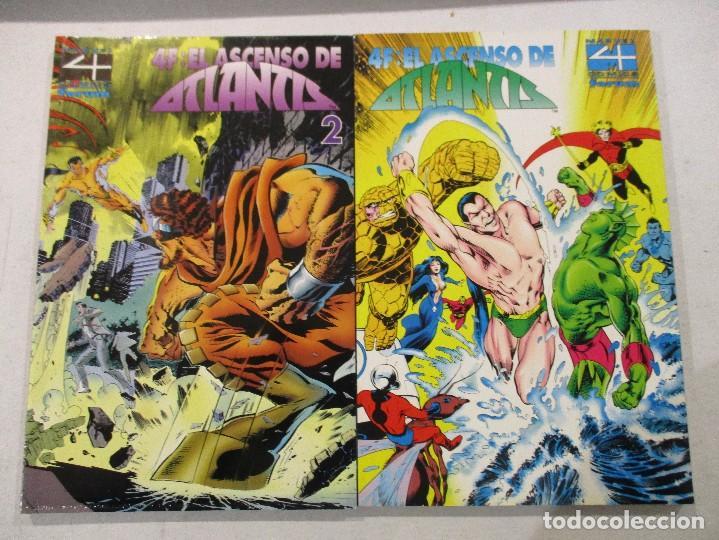 COLECCION COMPLETA EL ASCENSO DE ATLANTIS-LOS 4 FANTASTICOS-2 TOMOS-FORUM (Tebeos y Comics - Forum - 4 Fantásticos)