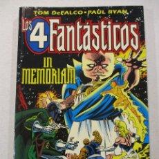 Cómics: TOMO PRESTIGE-IN MEMORIAN-LOS 4 FANTASTICOS--FORUM. Lote 73540675