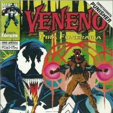 Cómics: VENENO Nº 3 DE 3 SERIE LIMITADA - MARVEL FORUM. Lote 73631091