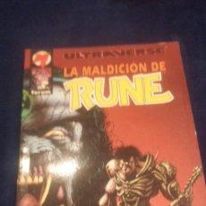Cómics: ULTRAVERSE-LA MALDICION DE RUNE. Lote 73634379