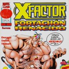 Cómics: X-FACTOR ESPECIAL FORTACHON RENACIDO - FORUM - IMPECABLE. Lote 143653786