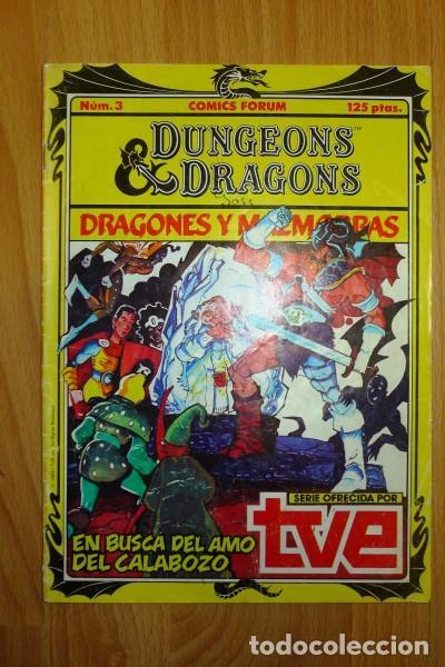 DUNGEONS & DRAGONS = DRAGONES Y MAZMORRAS. 3 : EN BUSCA DEL AMO DEL CALABOZO (Tebeos y Comics - Forum - Otros Forum)