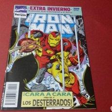 Cómics: IRON MAN EXTRA INVIERNO GUERRAS SUBTERRANEAS 4 EXCELENTE ESTADO FORUM. Lote 150266812
