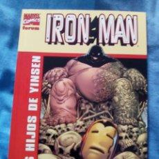 Cómics: IRON MAN LOS HIJOS DE YINSEN. Lote 73949806