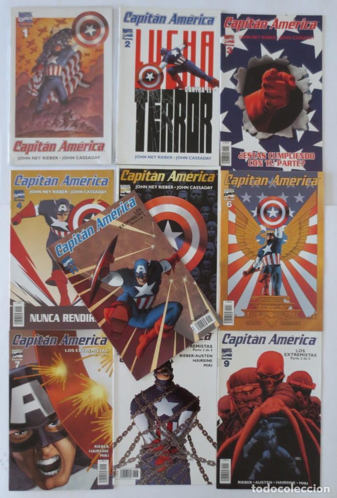 CAPITAN AMERICA VOL 4 (Tebeos y Comics - Forum - Capitán América)