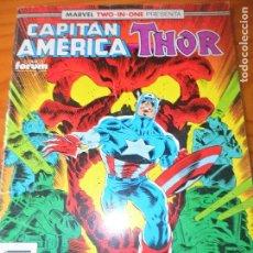 Cómics: CAPITAN AMERICA Y THOR, V.1 Nº 66 - FORUM. Lote 74245015