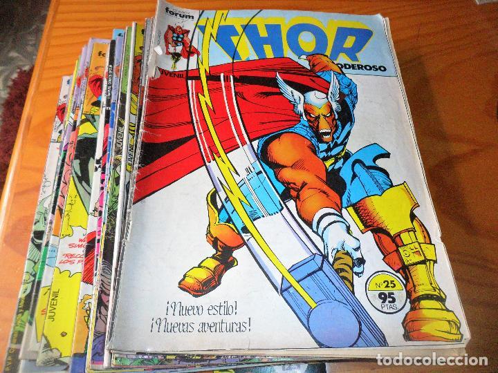 THOR, V.1 Nº 25 AL 49 - ETAPA WALTER SIMONSON EN THOR - FORUM (Tebeos y Comics - Forum - Thor)