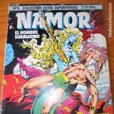 Cómics: NAMOR EL HOMBRE SUBMARINO NOVELA GRAFICA DEMATTEIS/ BUDIANSKY- COLECCION EXTRA SUPERHEROES Nº 9 TOMO. Lote 74247755