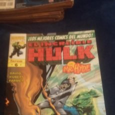 Cómics: HULK Nº 6 VOL3 VS MR HYDE. Lote 74389483
