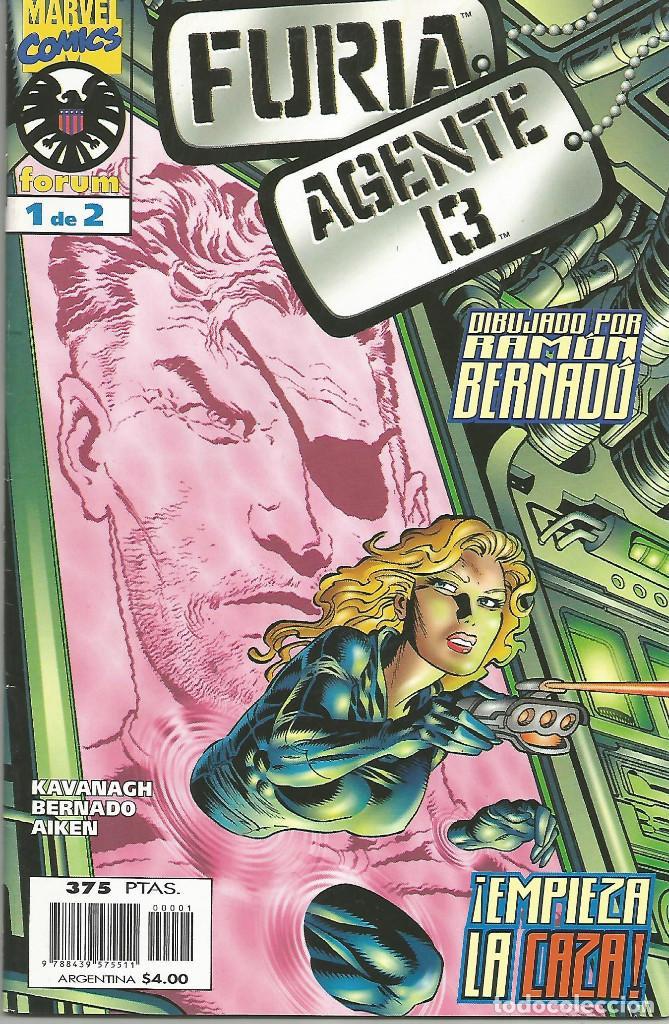 FURIA. AGENTE 13 EDITORIAL PLANETA-DEAGOSTINI COMPLETA 2 Nº (Tebeos y Comics - Forum - Furia)