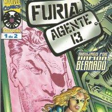 Cómics: FURIA. AGENTE 13 EDITORIAL PLANETA-DEAGOSTINI COMPLETA 2 Nº. Lote 74529939