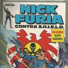 Cómics: NICK FURIA CONTRA S.H.I.E.L.D. EDITORIAL PLANETA-DEAGOSTINI COMPLETA 9 Nº. Lote 74530235