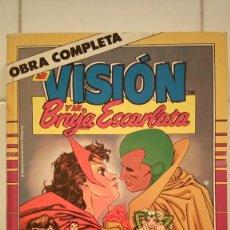 Cómics: LA VISION Y LA BRUJA ESCARLATA (OBRA COMPLETA) DE STEVE ENGLEHART, RICHARD HOWELL. Lote 74632827