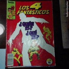 Cómics: LOS CUATRO FANTASTICOS. Lote 74643219