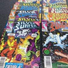 Cómics: SILVER SURFER VOL II , LOTE 15 EJEMPLARES Nº 1 AL 14 Y 21. Lote 163136612