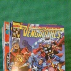 Cómics: LOS VENGADORES 1 AL 74 + 81 VOLÚMEN 3 - BUSIEK Y PÉREZ - TOTALMENTE NUEVOS. Lote 74725615