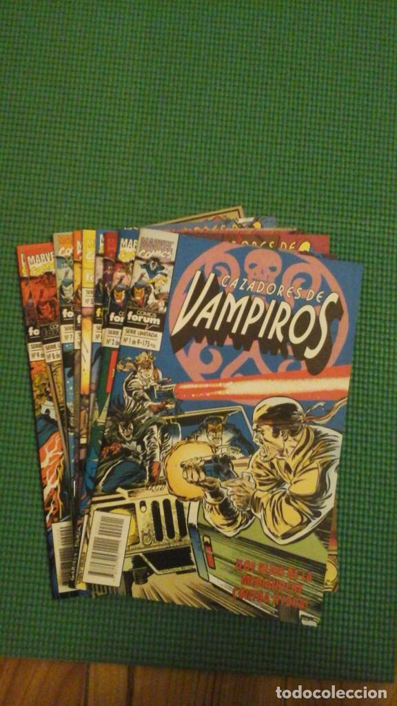 CAZADORES DE VAMPIROS COMPLETA EN 9 NºS (Tebeos y Comics - Forum - Otros Forum)