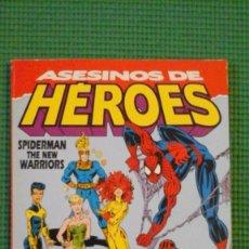 Asesinos de héroes - Spiderman y New Warriors - Forum Extra Invierno