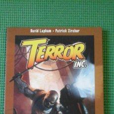 Cómics: TERROR INC. EL PLAN DESMEMBRADOR. Lote 74826563