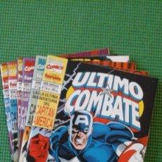 Capitán América: Último Combate completa en 6 números - Nueva