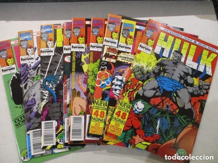 IRON MAN - HULK VOL1. (OBRA COMPLETA 9 NÚMEROS) (Tebeos y Comics - Forum - Hulk)