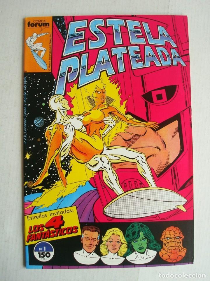 ESTELA PLATEADA VOL.1 Nº 1 (FORUM) (Tebeos y Comics - Forum - Silver Surfer)