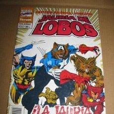 Cómics: CAPITAN AMERICA:JAURIA DE LOBOS Nº3 (FORUM) LEER DESCRIPCION. Lote 75056951