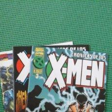 Cómics: CRÓNICAS DE LOS X MEN NºS 2 4 Y 5. Lote 75121383