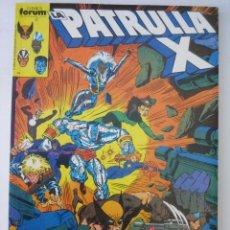 Cómics: RETAPADO PATRULLA X Nº 11 - VOLUMEN 1 FORUM. TOMO 5 NUMEROS. NUMEROS 87 A 91.. Lote 165314693