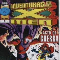 Comics : LAS NUEVAS AVENTURAS DE LOS X-MEN VOL. 2 Nº 9 - FORUM - IMPECABLE. Lote 75267747