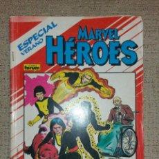 Cómics: MARVEL CÓMICS - MARVEL HÉROES ESPECIAL VERANO LOS NUEVOS MUTANTES (FORUM) MUTANTES X-MEN PATRULLA-X. Lote 75306443