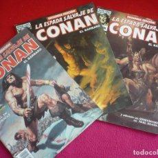 Cómics: LA ESPADA SALVAJE DE CONAN SEGUNDA EDICION 19, 20 Y 21 ( BUSCEMA THOMAS BRUCE JONES ) FORUM MARVEL. Lote 75508363