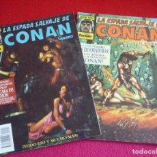 Cómics: LA ESPADA SALVAJE DE CONAN 118 Y 119 ( KUPPERBERG DOCHERTY DEZUÑIGA ARCUDI MURRAY ) FORUM MARVEL. Lote 75509171