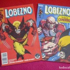 Cómics: LOBEZNO VOL. 1 NºS 17 Y 18 ( ARCHIE GOODWIN JOHN BYRNE ) ¡BUEN ESTADO! FORUM MARVEL 1990. Lote 75580919