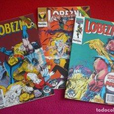 Cómics: LOBEZNO VOL. 1 NºS 46, 47 Y 48 (HAMA SILVESTRI ) EL ENIGMA DE CRUNCH ¡BUEN ESTADO! FORUM MARVEL 1993. Lote 75597767