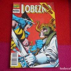 Cómics: LOBEZNO VOL. 1 Nº 49 ( NICIEZA DARICK ROBERTSON ) ¡BUEN ESTADO! FORUM MARVEL 1993. Lote 75597911