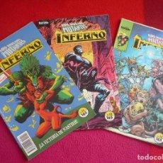 Cómics: INFERNO 11, 12 Y 13 ( LOUISE SIMONSON ) LOS NUEVOS MUTANTES ¡BUEN ESTADO! FORUM MARVEL . Lote 75667567
