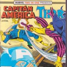 Comics : CAPITÁN AMÉRICA -- THOR -- Nº 52. Lote 75879555