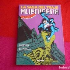 Cómics: SPIDERMAN LA SAGA DEL TRAJE ALIENIGENA ( DEFALCO STERN FRENZ LEONARDI ) FORUM MARVEL OBRAS MAESTRAS. Lote 75966063