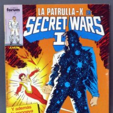Cómics: PATRULLA X SECRET WARS I Nº 47 MARVEL CÓMICS FORUM 1987. Lote 75996543