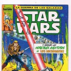 Cómics: COMIF FORUM LA GUERRA DE LAS GALAXIAS STAR WARS AÑOS 80 NUEVO Nº 9. Lote 76311339