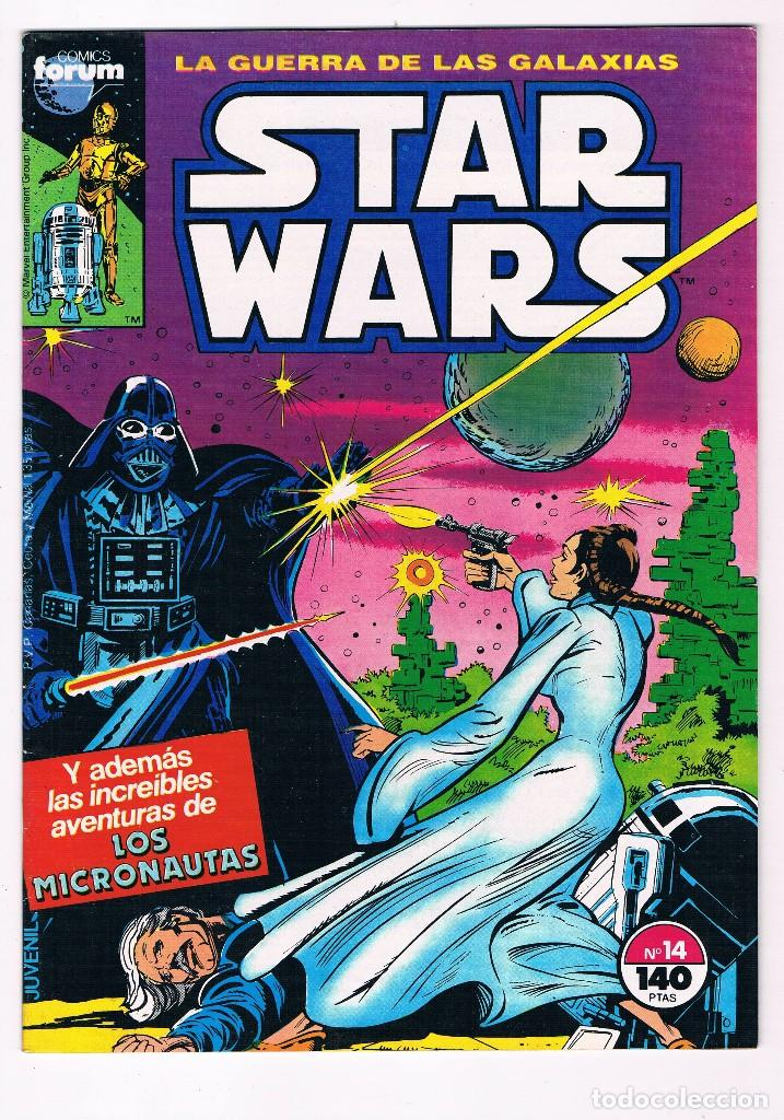 COMIC FORUM LA GUERRA DE LAS GALAXIAS STAR WARS AÑOS 80 NUEVO Nº 14 (Tebeos y Comics - Forum - Otros Forum)