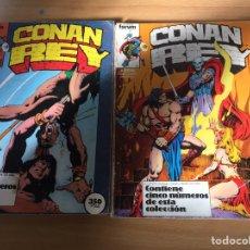 Cómics: CONAN EL BARBARO-REY. LOTE 21 COMICS.. Lote 76582154