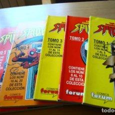 Cómics: LAS HISTORIAS JAMAS CONTADAS DE SPIDERMAN SPIDER-MAN - COMPLETA EN 5 TOMOS - FORUM. Lote 76750723